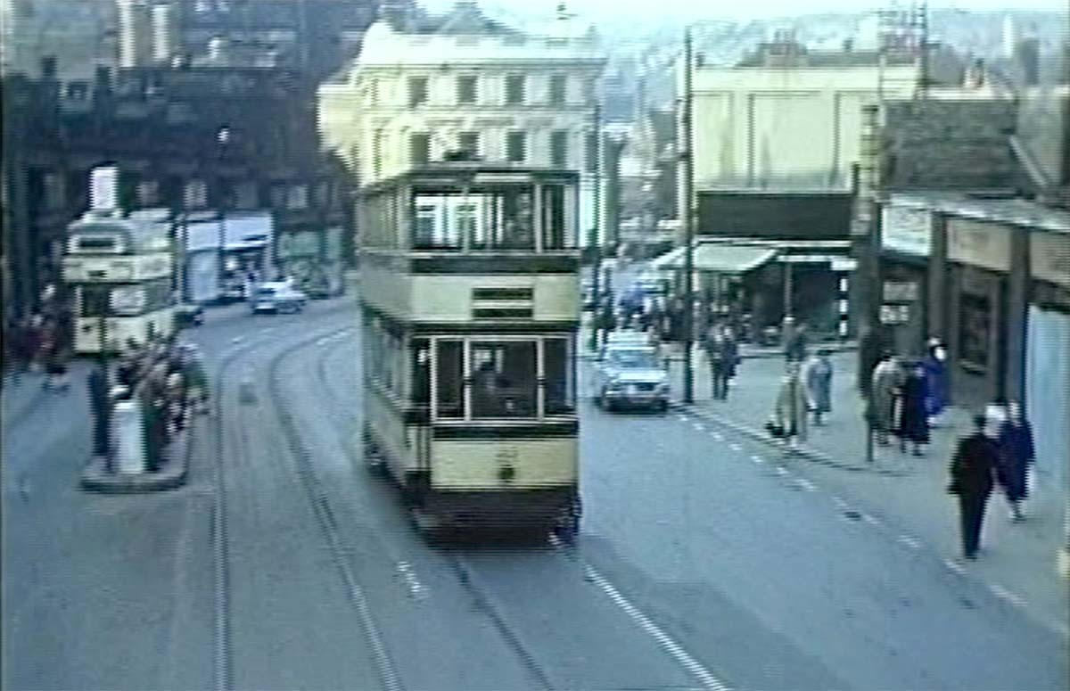 Great photo of sheffield tram passing the markets for The sheffield