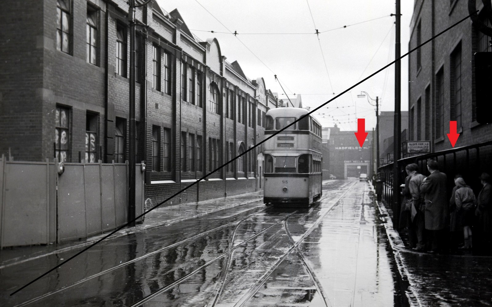PT139-Sheffield Transport No.515 at Vulcan Road, Tinsley, Sheffield-08-10-1960-web copy.jpg