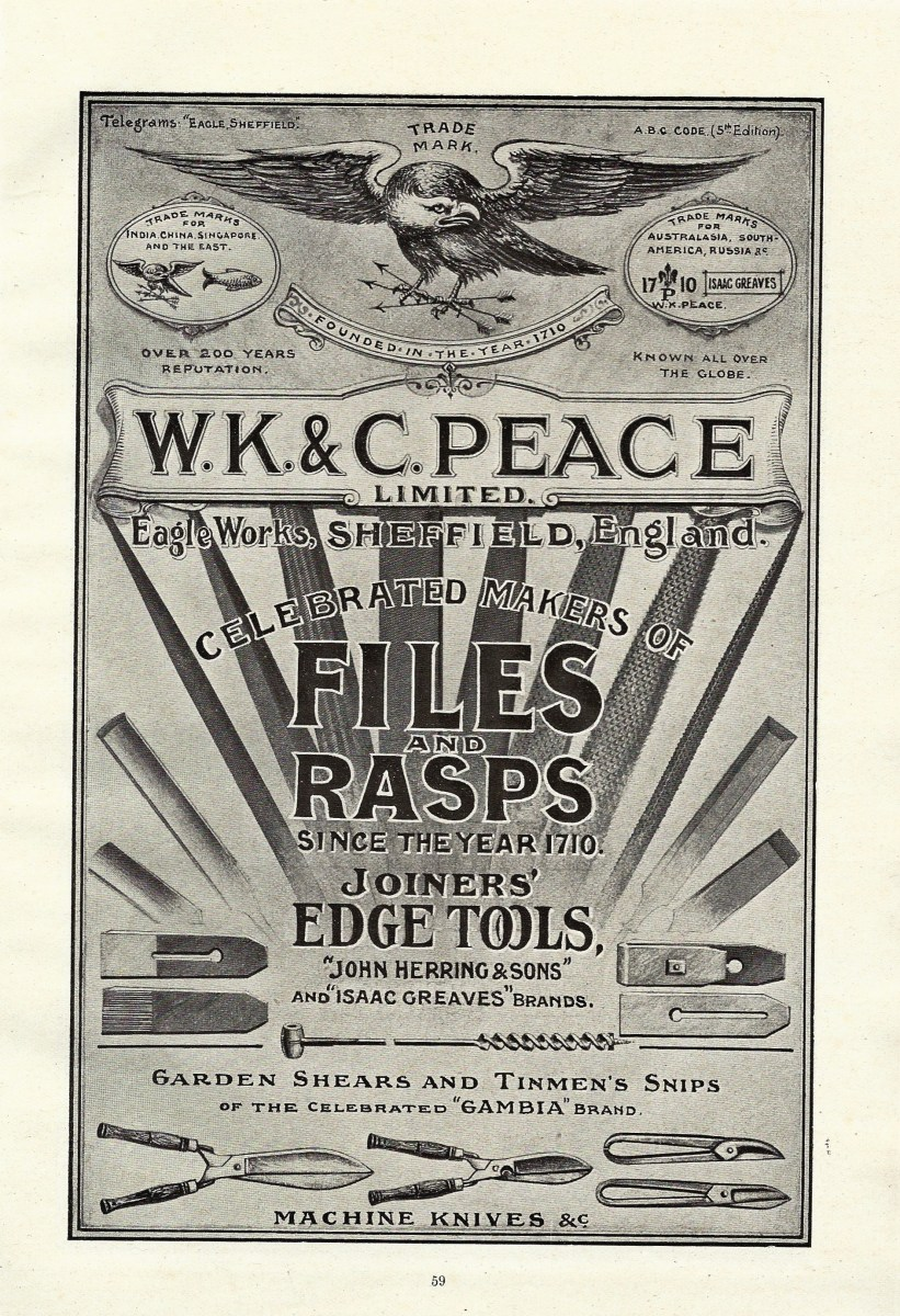 W K and C Peace-Advertisement-1919-002.JPG