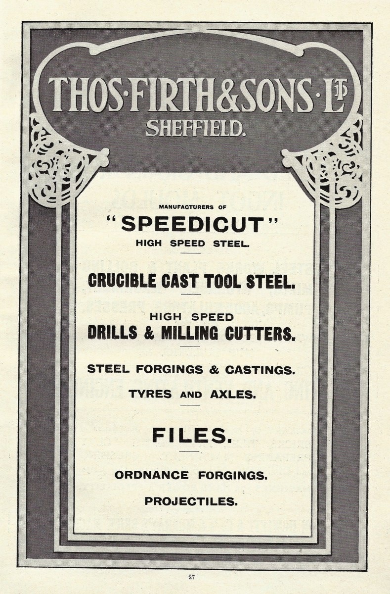 Thomas Firth and Sons Limited-Advertisement-1919.JPG