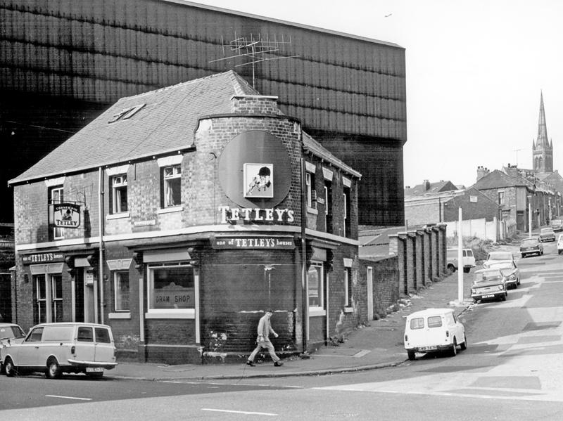 The Corner Pin pub on Carlisle Street East, Sheffield