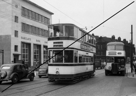 PT177-Sheffield Transport No.173 at London Road-(junction of Cemetery Road), Sheffield-09-04-1958-Web Copy.jpg