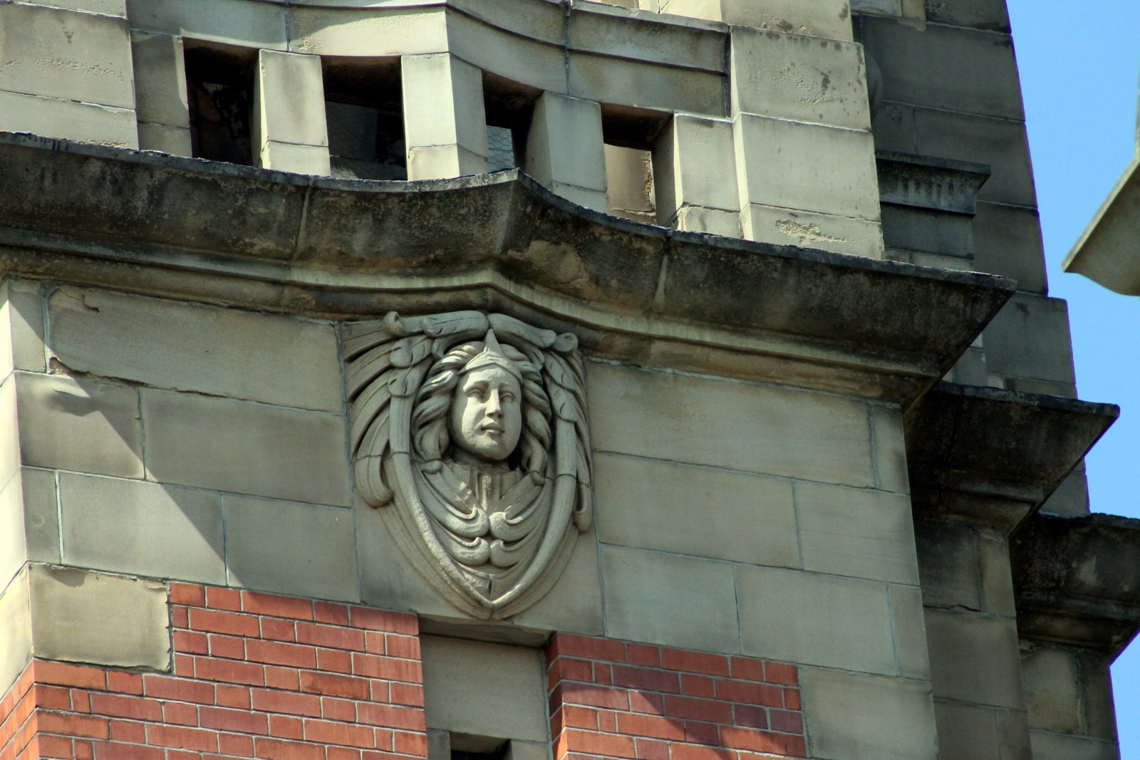 Face 1 on bell tower Victoria Hall.jpg