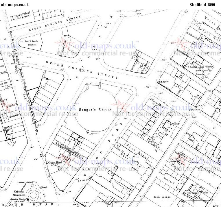 Pinstone Street map 1890.jpg