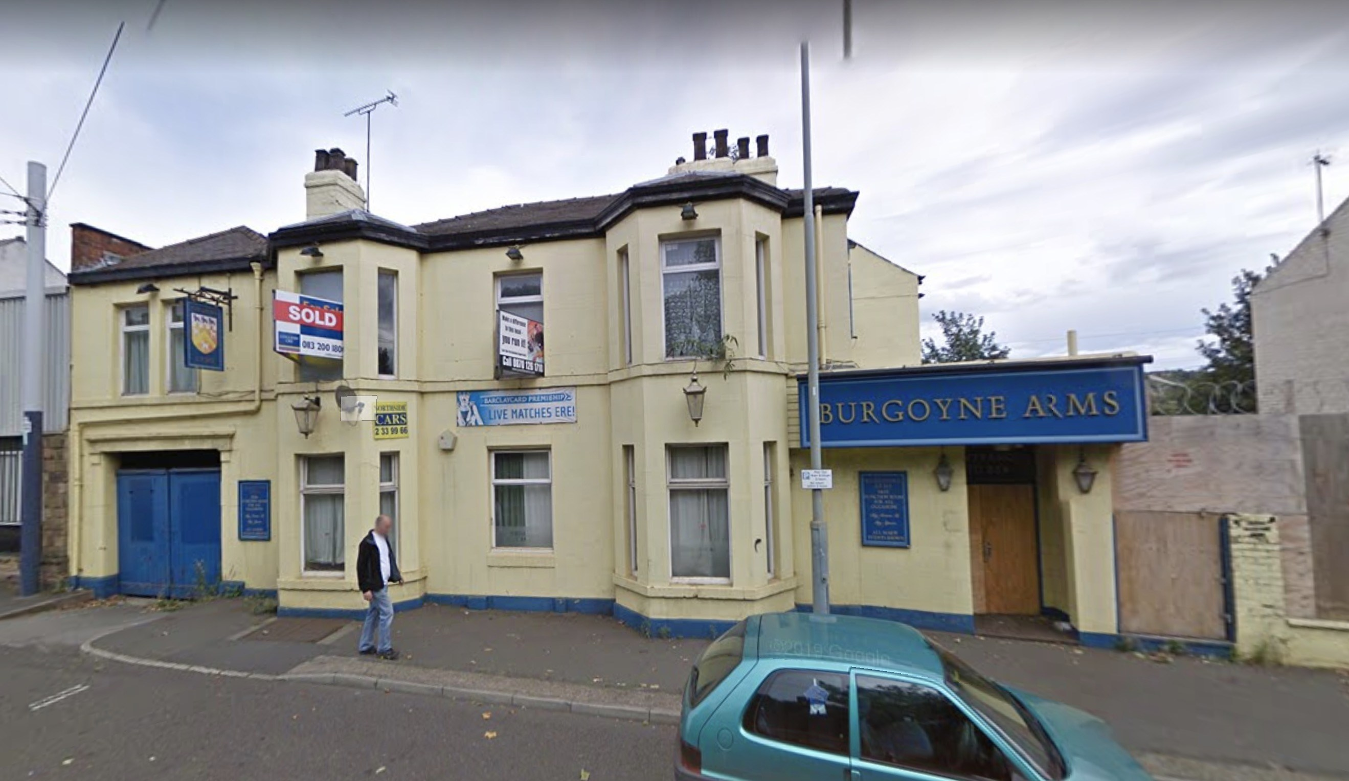 The Burgoyne Arms pub on Langsett Road