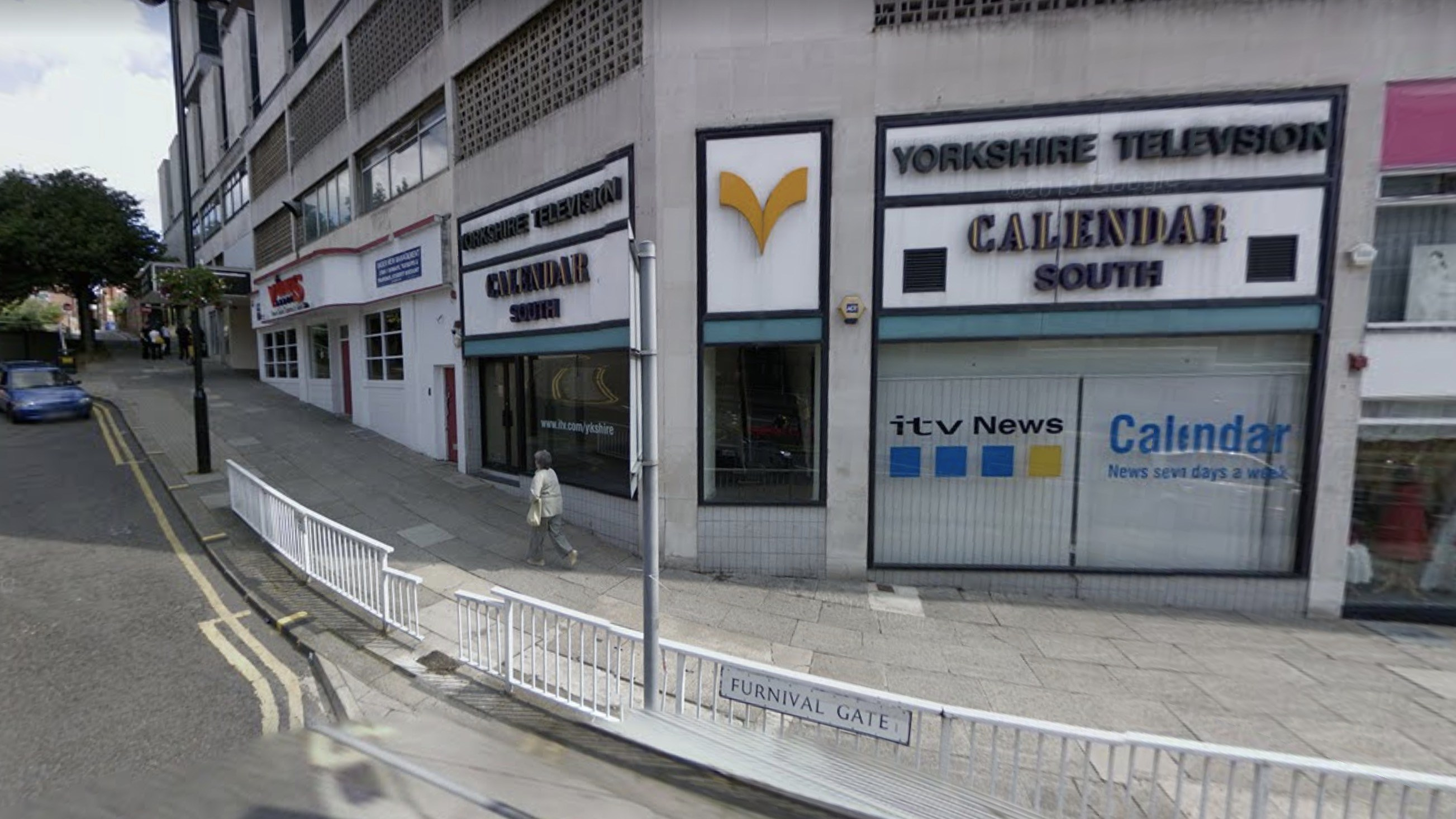 Yorkshire TV Calendar Studio on Furnival Gate