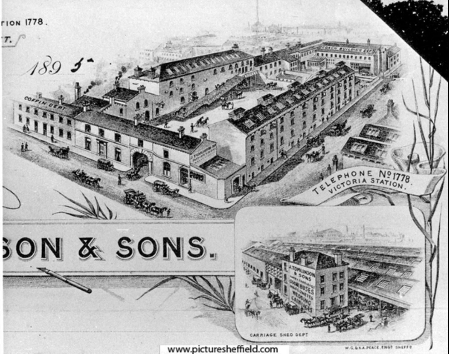 Joseph Tomlinson & Sons Ltd Borough Mews