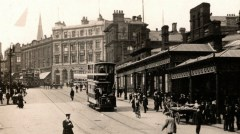 Trams and Horses on High Street