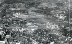 Sheffield from above (aerial photo)