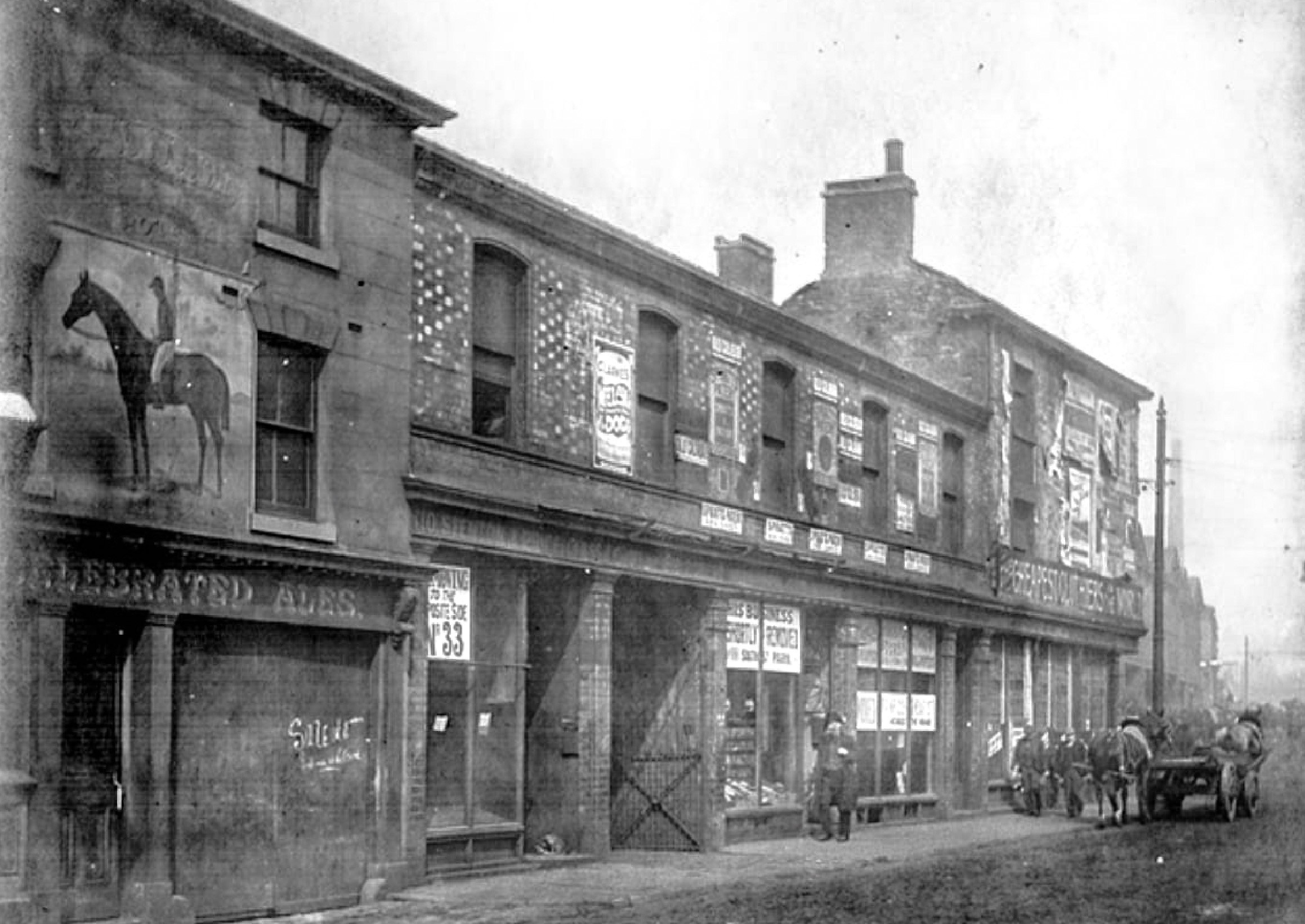 Horse and Jockey Hotel on Sheaf Street