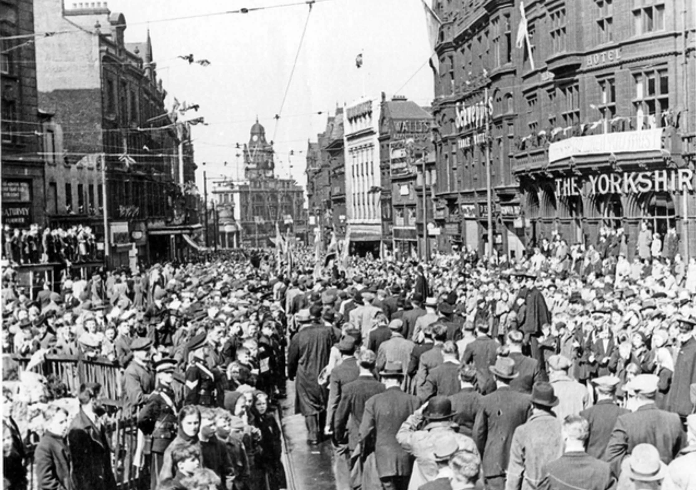 VE Day in Sheffield