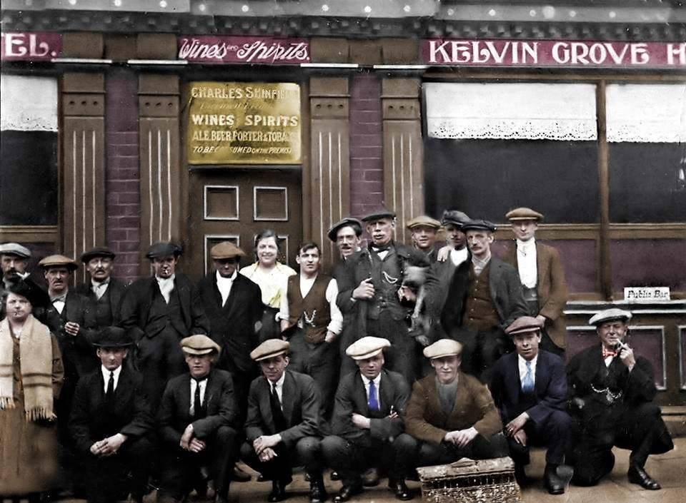 The Kelvin Grove Hotel Pub and the Sheffield Gangs