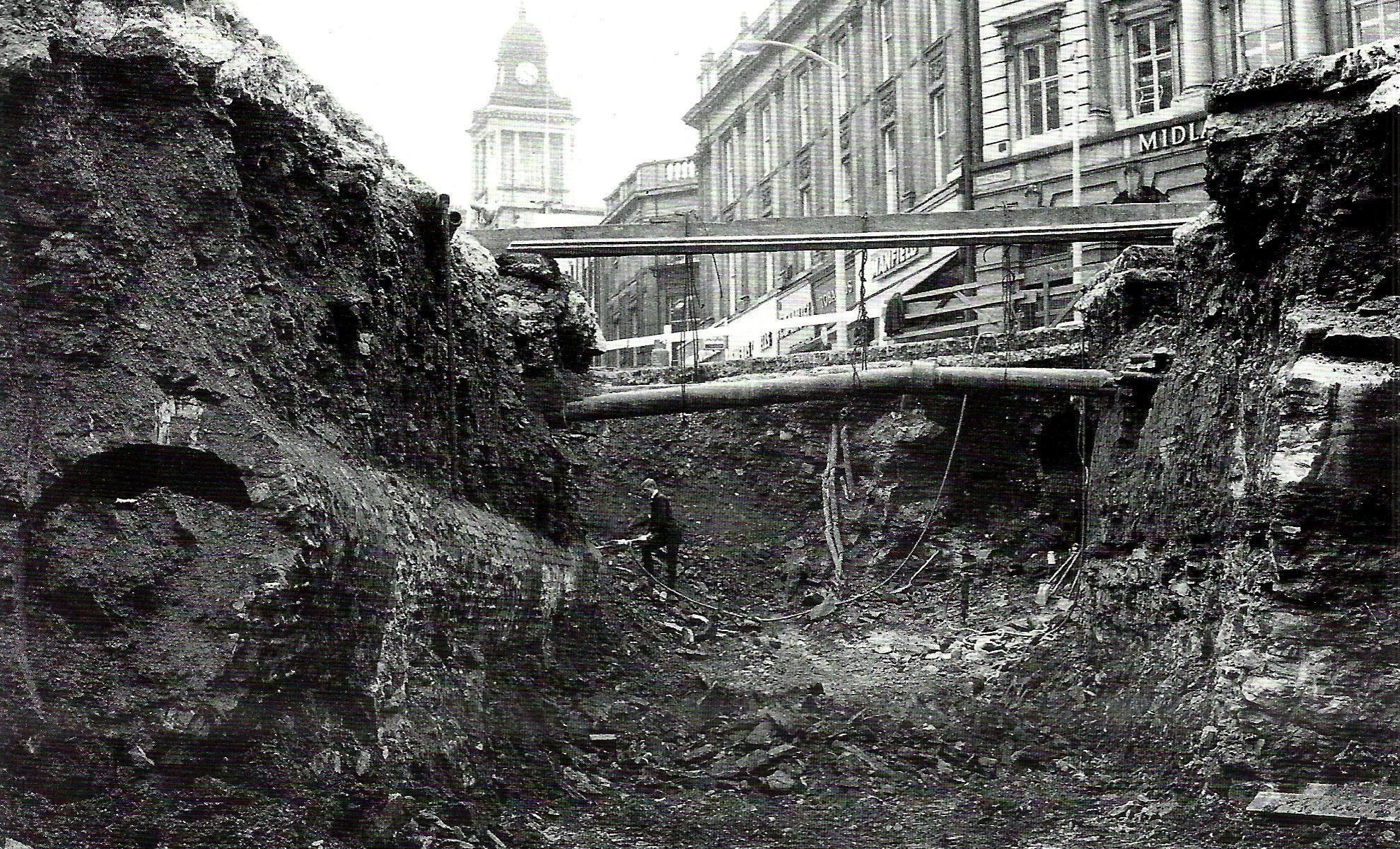 Victorian Sewers under Castle Square