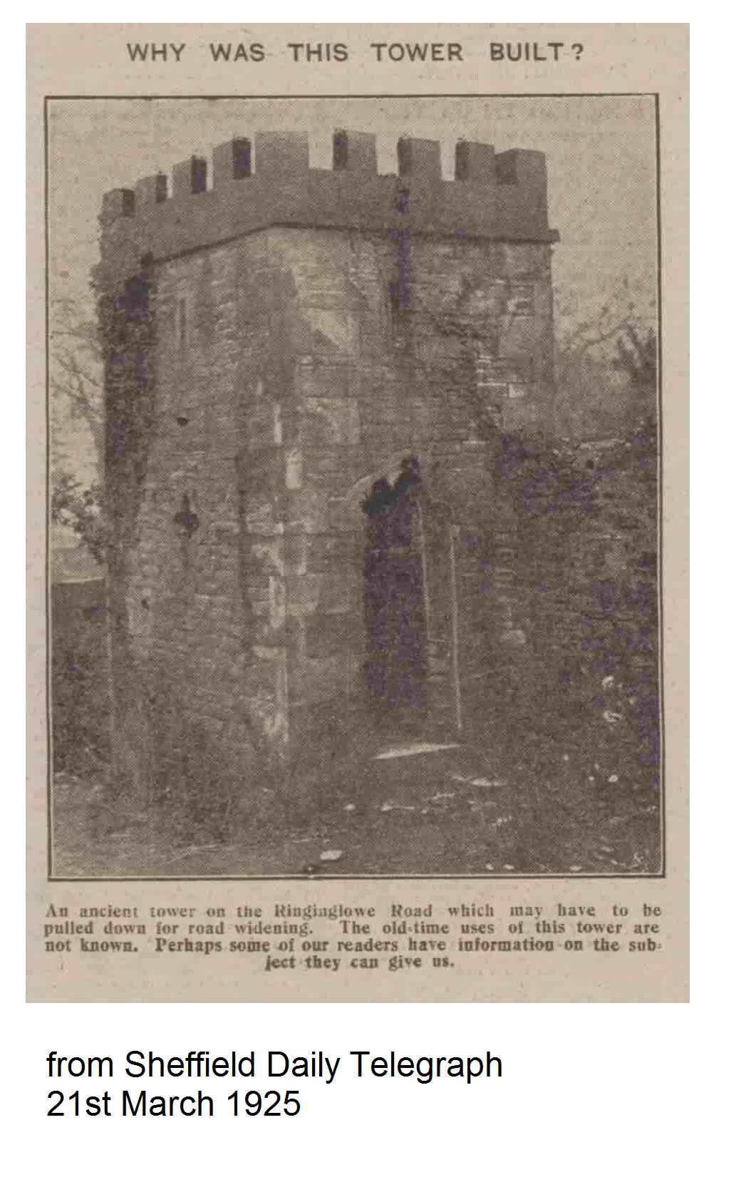 Ringinglow Tower