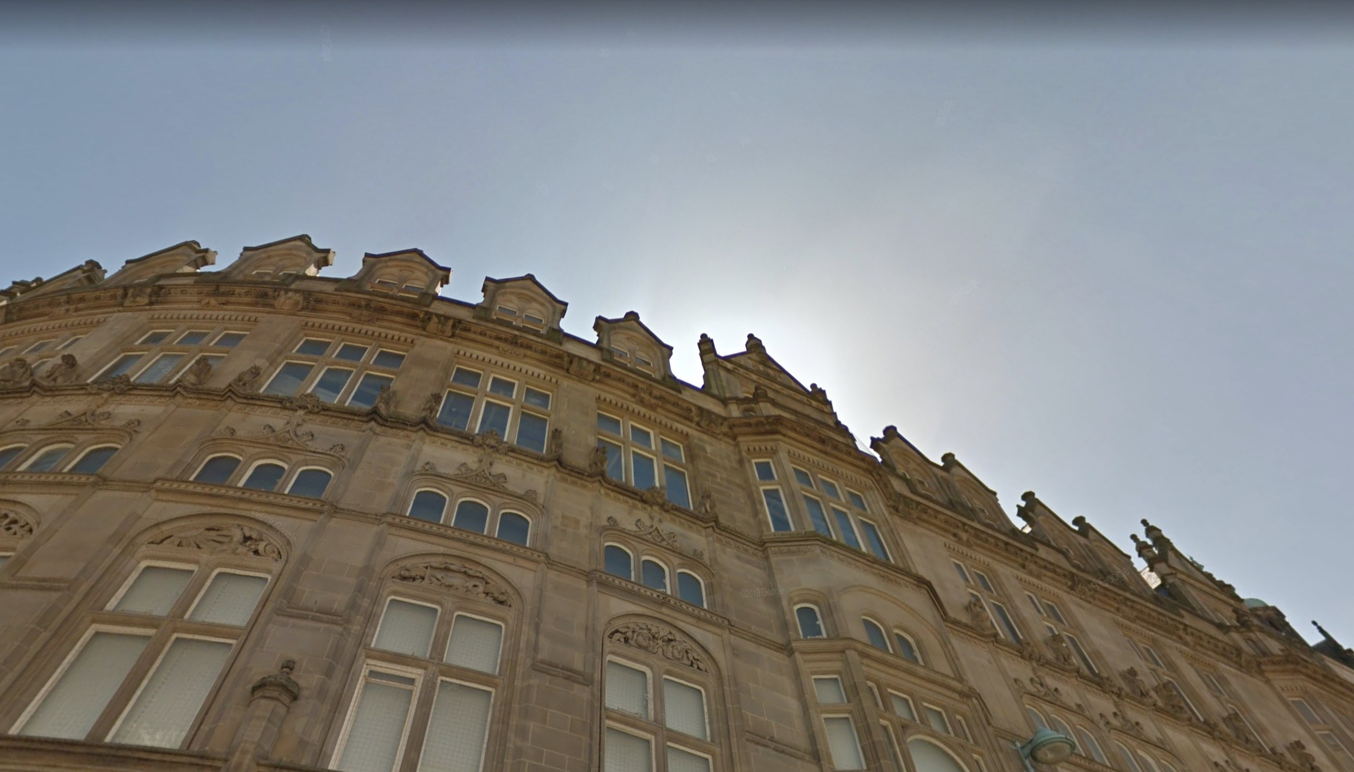 Look UP in the City Of Sheffield for a new perspective!