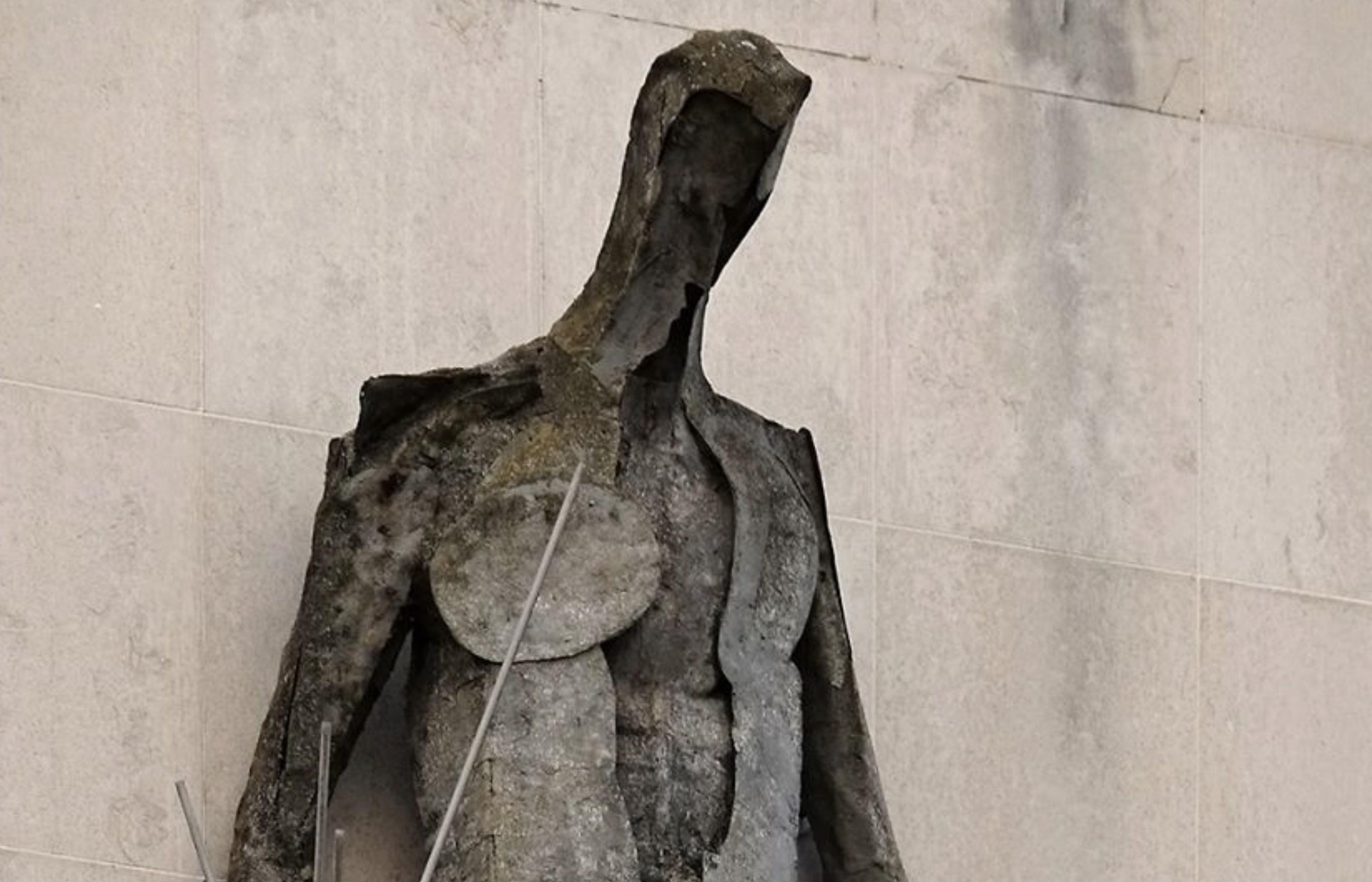 Vulcan - God Of Fire Sculpture on Angel Street