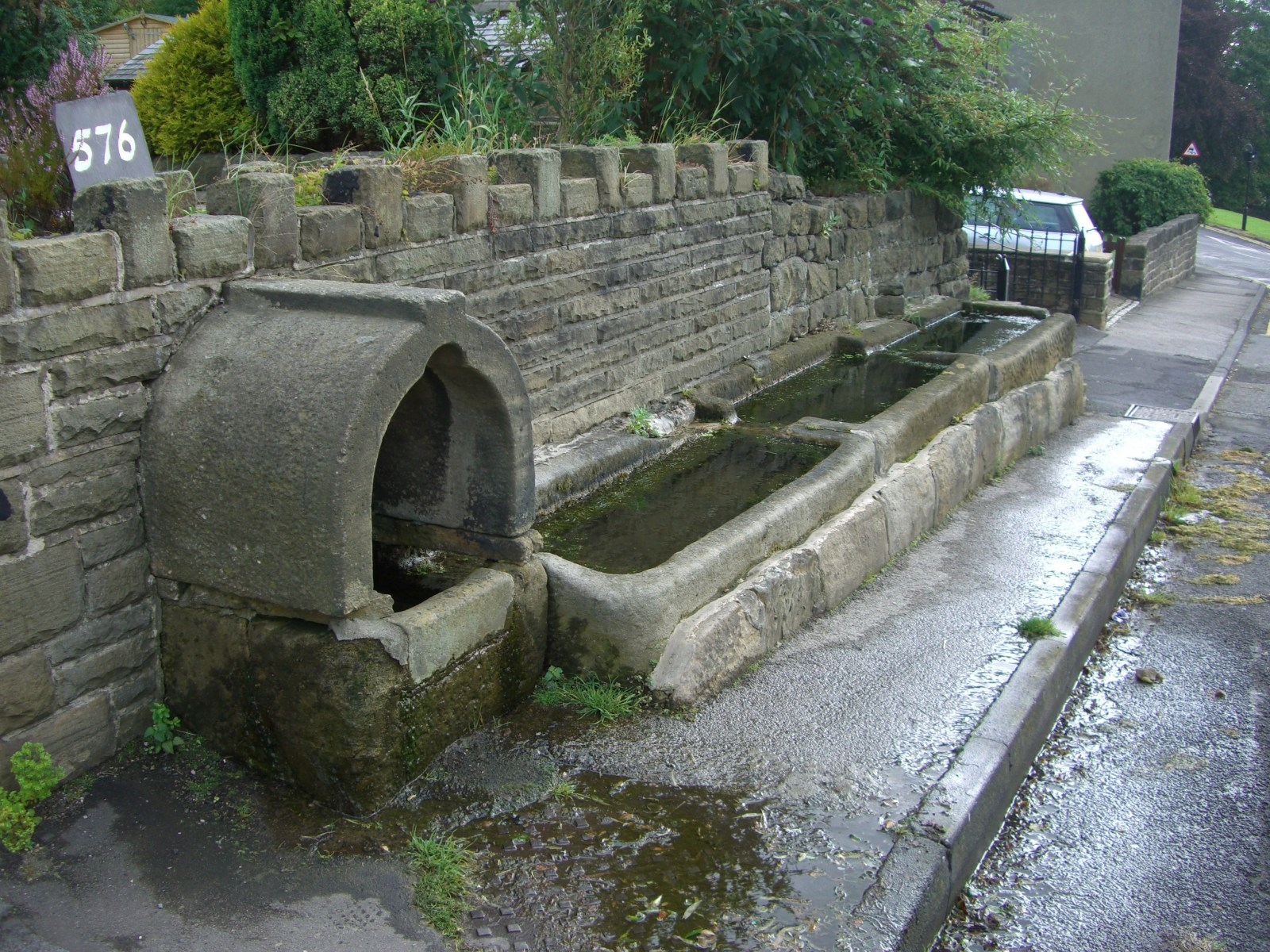 Water troughs, Loxley.JPG