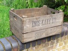 Enos Kaye Ltd. Bushel Crate