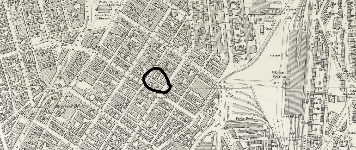 1892-1914 OS Charles Lane.jpg