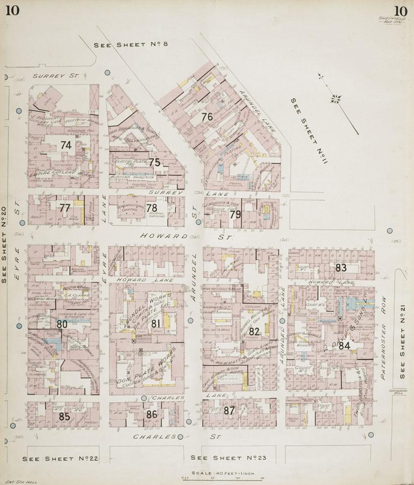Charles Lane map 1906.jpg