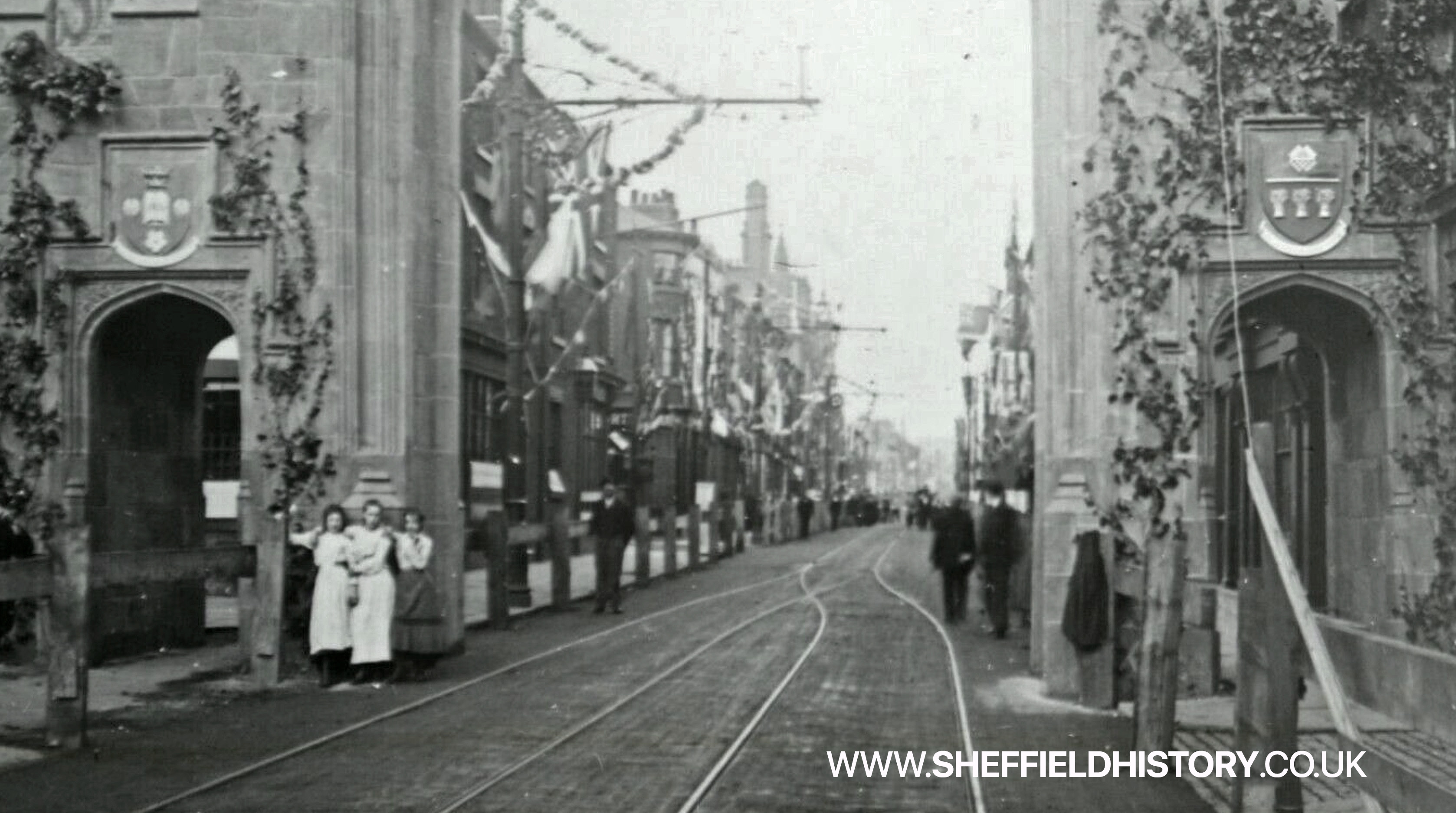 West Street Arch in Sheffield City Centre - Can you tell us exactly where this was?