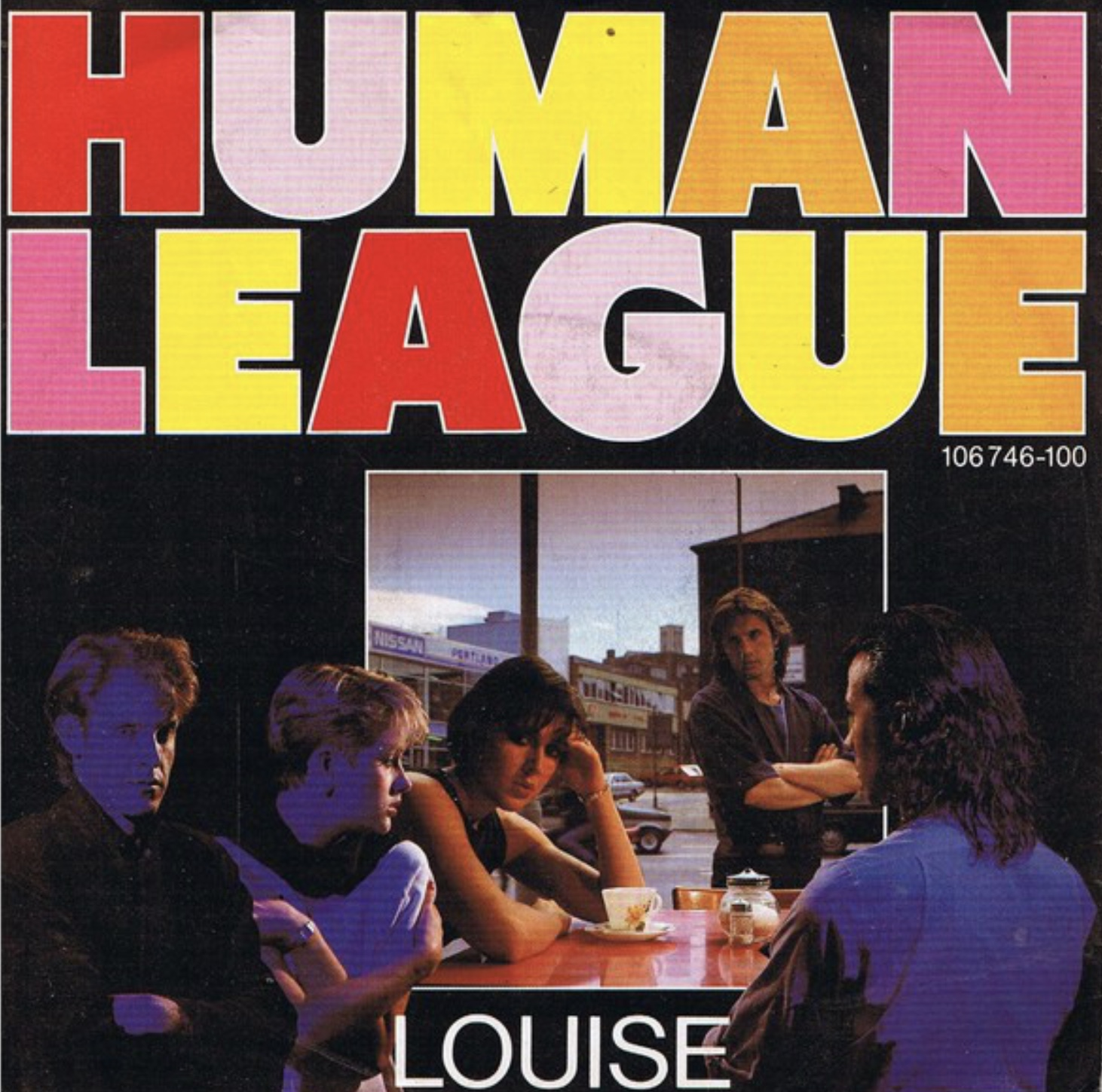 Human League Louise - Here's the Sheffield location of the single cover!
