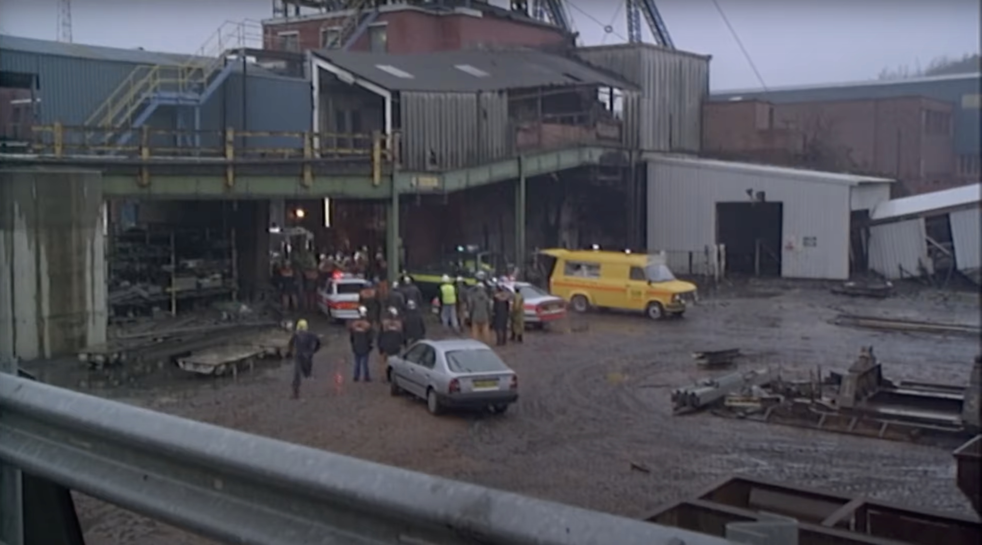 Tragedy at the pit scene - When Saturday Comes Filming Location
