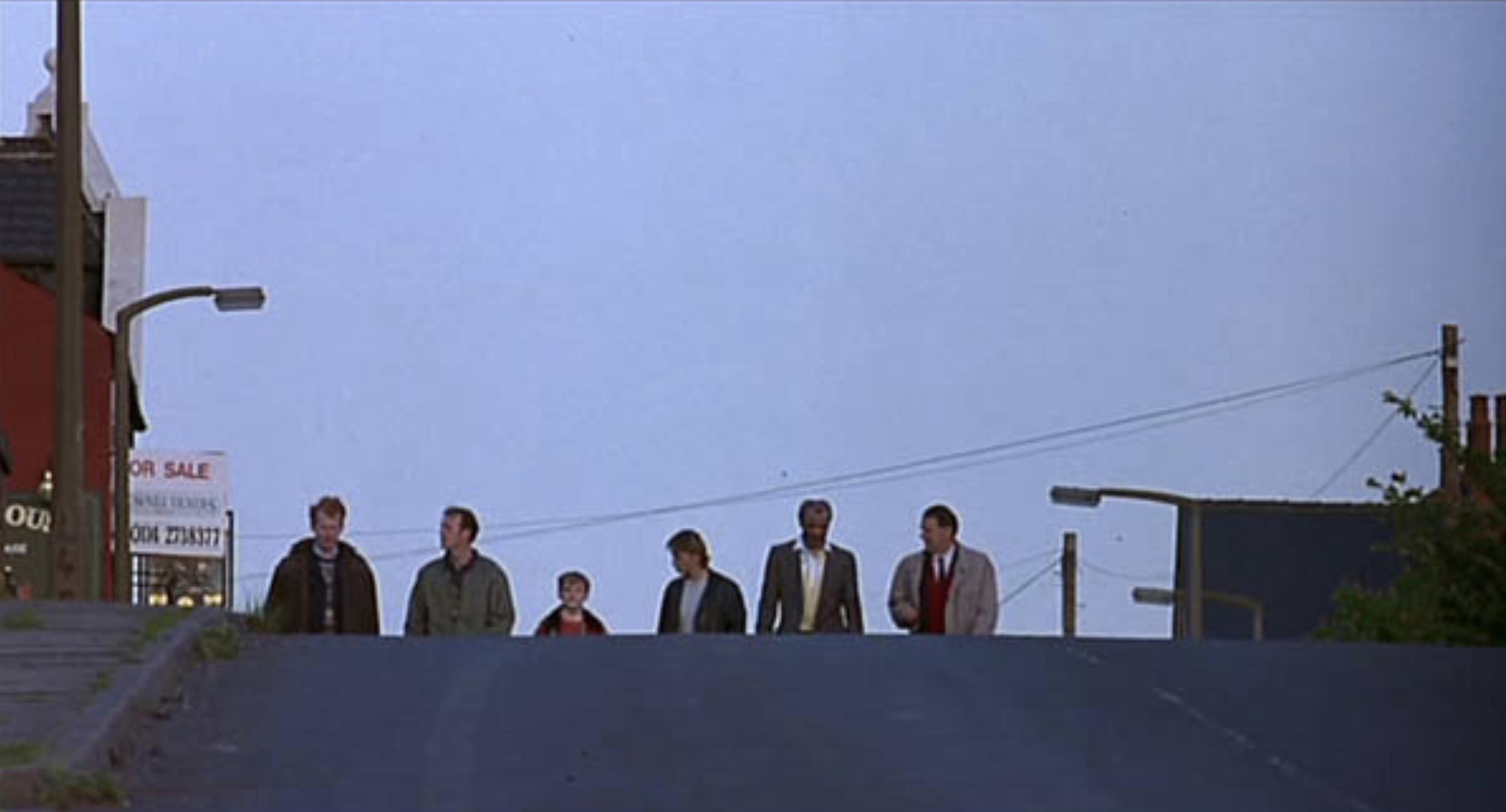 Shirland Lane Sheffield - The Full Monty Filming Location