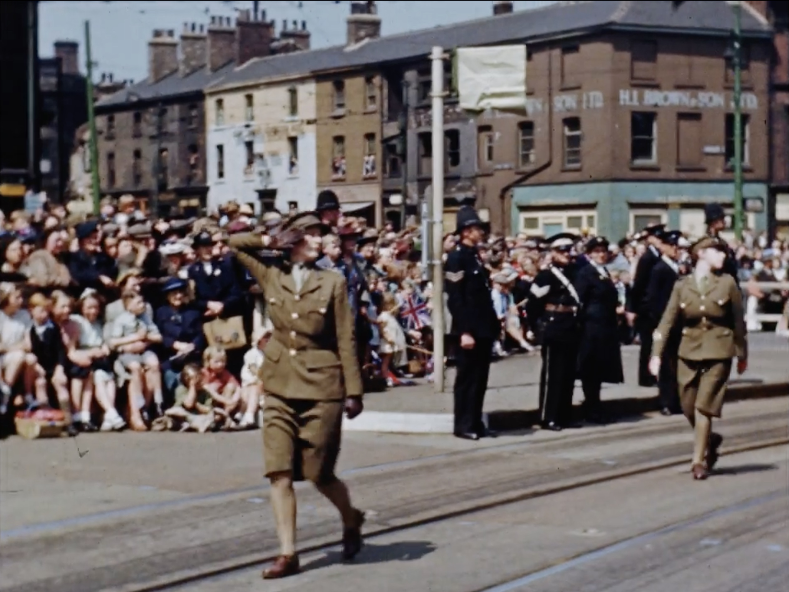 Photos from Sheffield events in the city during the Second World War