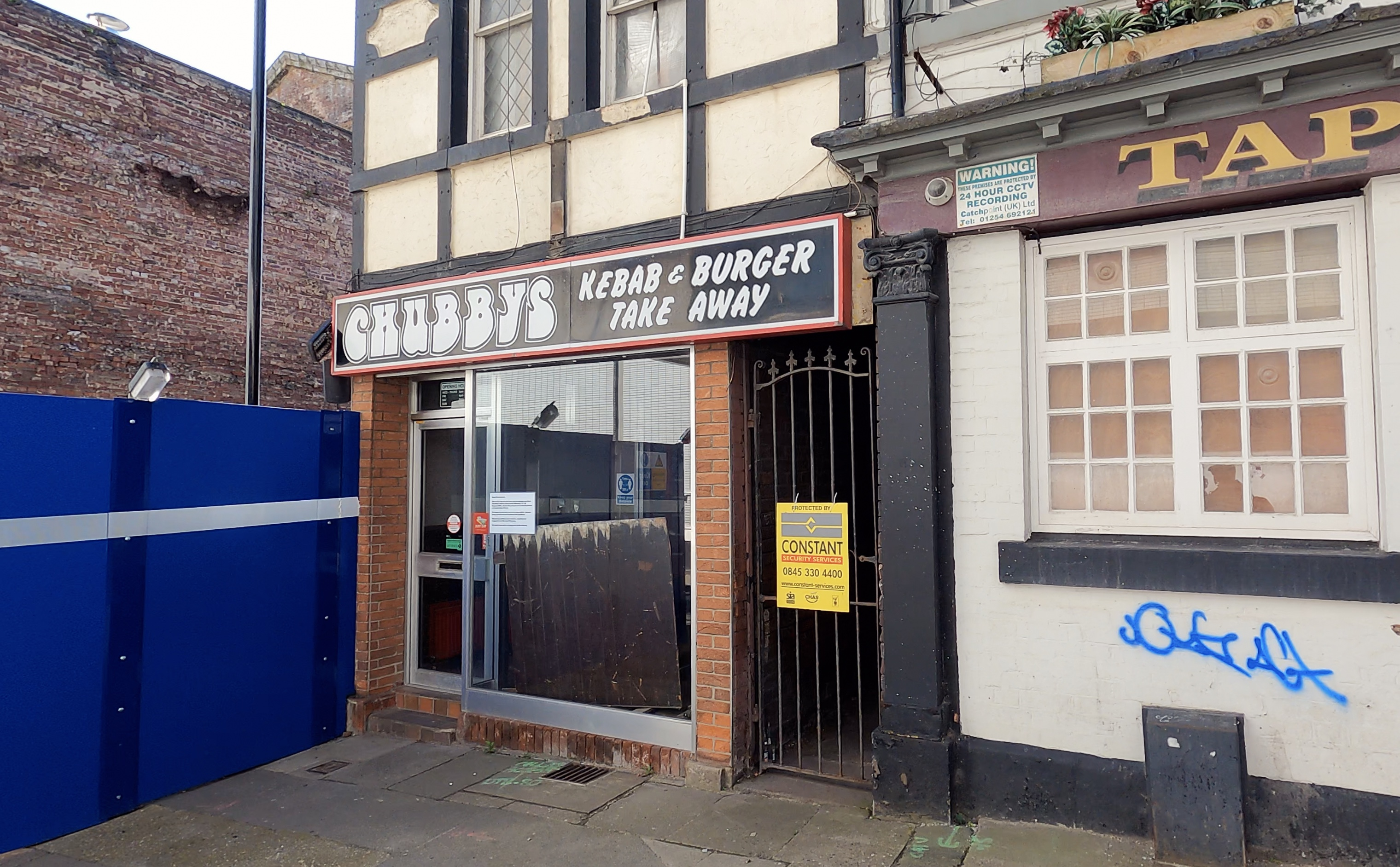 Chubbys Kebab, Burger and Cheesy Chips on Cambridge Street