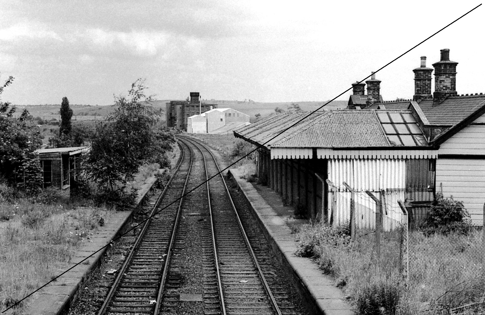 GCR007-Killamarsh Central Station-Looking North-16-06-1977.jpg