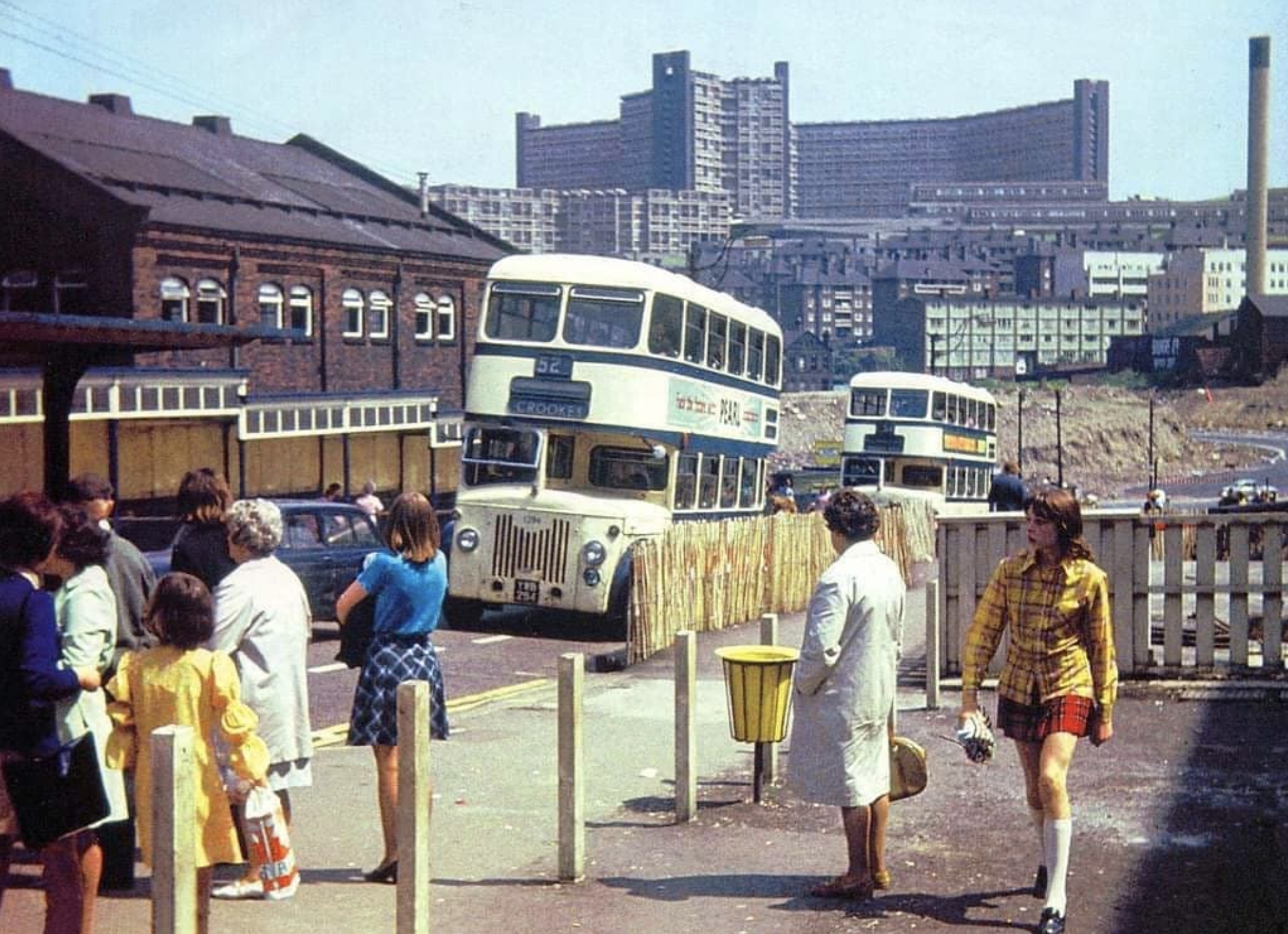 Does this scene look familiar to you?  (Sheffield in the 1970's)