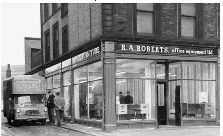 Roberts (Office Equipment) Ltd, No 85 The Wicker 1967.jpg